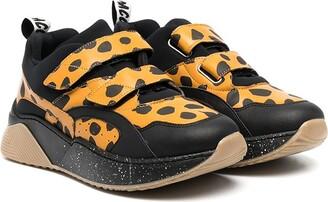 Stella McCartney Kids TEEN leopard-print sneakers