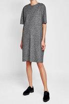 Jil Sander Tweed Dress with Wool