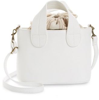 BP Mini Faux Leather Crossbody Tote