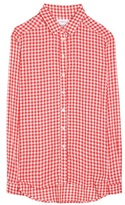 Velvet Ruthann plaid shirt