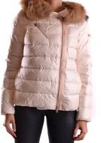 Peuterey Women's Pink Polyamide Down Jacket.