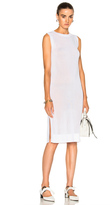 Soyer Sleeveless Tunic Top in White.