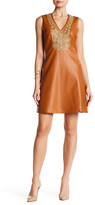 Julie Brown Fern V-Neck Dress