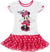 Babies 'R' Us Babies R Us Disney Girls' Tutu Sleep Gown - Minnie Mouse