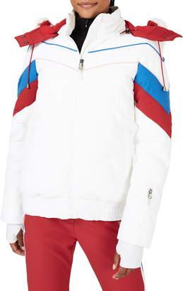 Sweaty Betty Powder Faux Fur Trim Ski Jacket