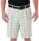 Haggar Cool 18 Flat-Front Shorts - Big & Tall