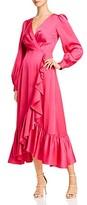 Sachin + Babi Sachin And Babi Ruby Ruffled Crossover Maxi Dress