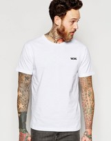 Wood Wood T-shirt With Ww Chest Logo In White