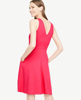 Ann Taylor Pocket Flare Dress