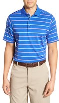 Bobby Jones Men's 'Xh20 - Stripe' Stretch Golf Polo
