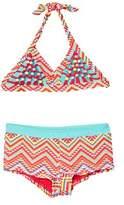 Vigoss Girls' Tribal Girls 2pc Swimsuit.