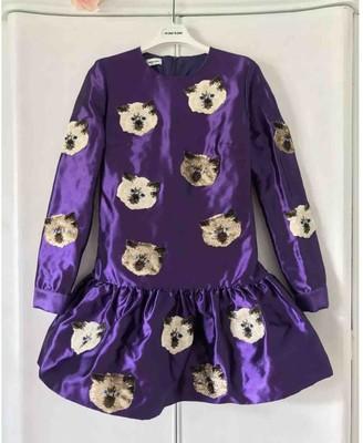 Au Jour Le Jour Purple Dress for Women