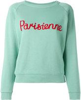 MAISON KITSUNÉ parisienne sweatshirt - women - Cotton - M