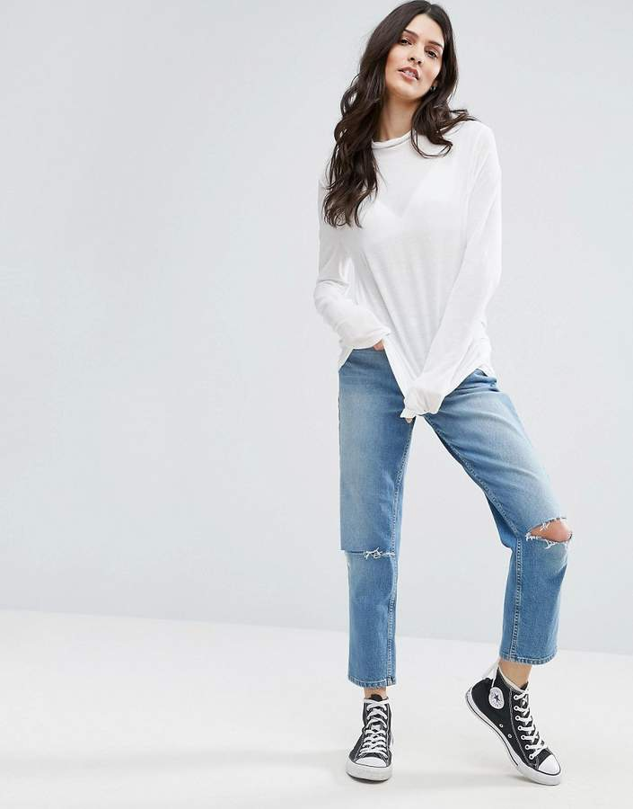 Selected Missy High Neck Sweater