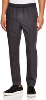 Vince Pleated Slim Fit Trousers