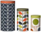 Orla Kiely Assorted Storage Tins - Set of 3 - Floral