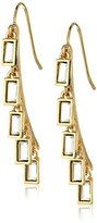"Laundry by Shelli Segal Sunset Boulevard"" Shakey Stone Drop Earring"