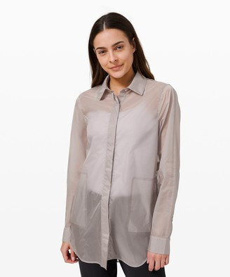 Lululemon Hazy Sky Shirt Jacket