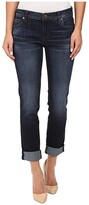 KUT from the Kloth Catherine Five-Pocket Boyfriend Jeans in Adaptability w/ Euro Base Wash (Adaptability/Euro Base Wash) Women's Jeans