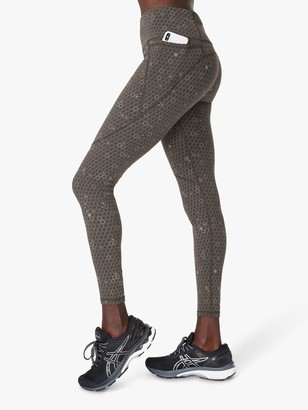 Sweaty Betty Reflective Gym Leggings, Grey