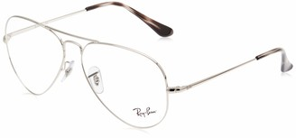 Ray-Ban Unisex's Rx6489 Metal Prescription Eyeglass Frames