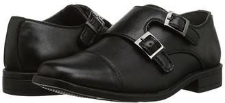 Steve Madden Chaaz (Toddler/Little Kid/Big Kid) (Black) Boy's Shoes