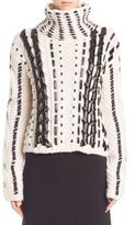 Altuzarra Wool Blend Long Sleeve Sweater