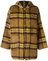 P.A.R.O.S.H. 'Lionel' coat - women - Mohair/Alpaca/Virgin Wool/Polyester - S