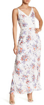 Collective Concepts Embroidered Trim Maxi Dress