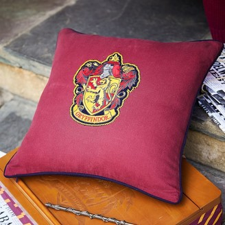 Pottery Barn Teen HARRY POTTER House Patch Gryffindor Pillow Cover