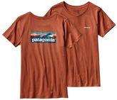 Patagonia Women's Board Short Label Cotton Crew T-Shirt