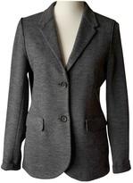 Harris Wharf London Grey Wool Jacket for Women
