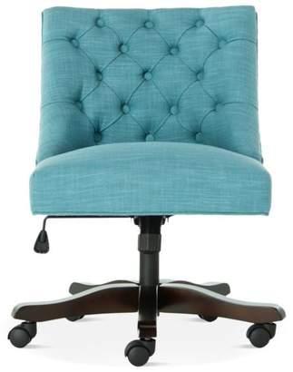 Safavieh Soho Tufted Swivel Desk Chair