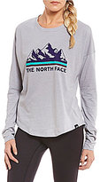 The North Face Long Sleeve Mountain View Tri-Blend Tee