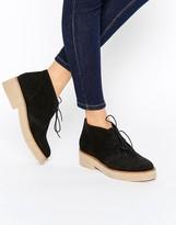 Asos ALVA Suede Lace Up Ankle Boots