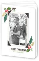 Minted Family Album Holiday Booklette Card