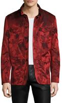John Varvatos Camouflage Field Jacket
