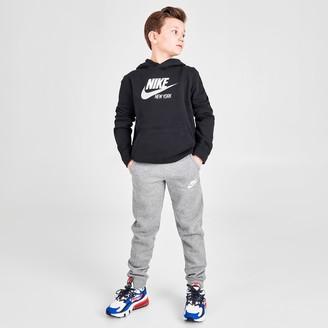 Nike Boys' Sportswear Embroidered Logo Club Fleece Jogger Pants