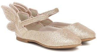 Sophia Webster Mini Chiara Mini glitter ballet flats