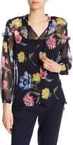 Joe Fresh Floral Print Blouse