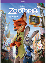Disney Zootopia DVD