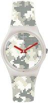 Swatch Women's Magies D'Hiver GW180 Rubber Swiss Quartz Watch