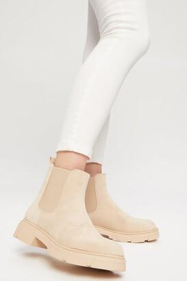 Dorothy Perkins Women's Martha Chunky Chelsea Boot - black - 7
