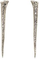 Pearls Before Swine Silver Thorn Earrings