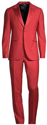 Paul Smith Soho Wool & Mohair Tuxedo