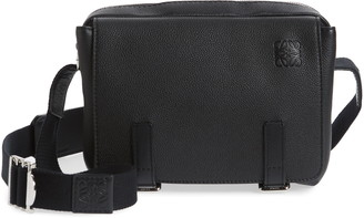 Loewe Extra Small Military Leather Messenger Bag