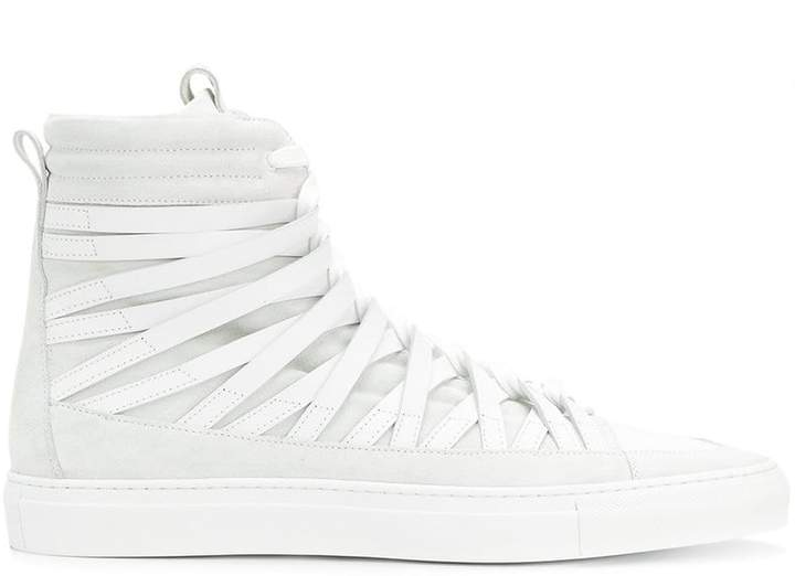 Damir Doma Damirdoma x Officine Creative hi-top strappy sneakers