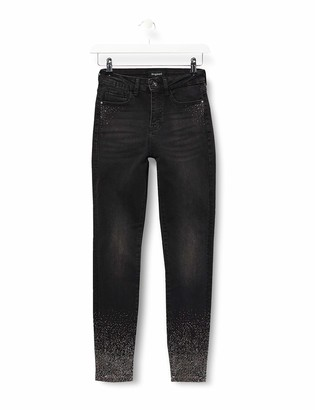 Desigual Women's Denim Overall Trousers