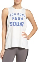 Reebok Women's You Don'T Know Squat Muscle Tank