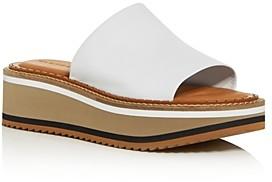 Clergerie Women's Fast3 Platform Slide Sandals
